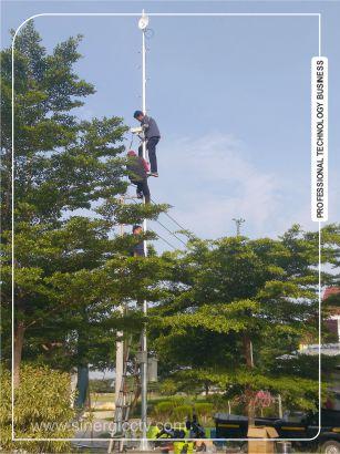 Teknisi CCTV profesional